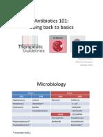 Antibiotics 101