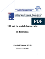 Social Democr in Ro
