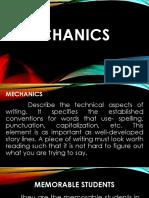 mechanics and language