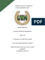 informe sistemas industriales