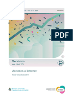 Informe Acceso a Internet Indec
