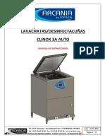 MANUAL DE UTILISACION ARCANIA - CLINOX 3A