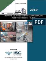INFORME DE MONIT.  RUIDO 2019