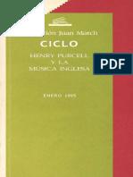 Henry Purcell y la musica inglesa