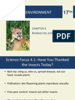 Biodiversity and Natural Selection (Miller and Spoolman)