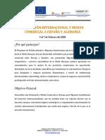 FEDEXPOR - Formación Internacional y Misión Comercial a España y Alemania