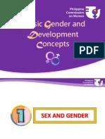 Orientation on Basic GAD concepts