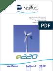 Kestrel e220i User Manual