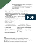 Legal Clinic CDO Reqs RA 9048 and 10172