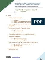 UNIDAD 4  CAPITALIZACIÓN COMPUESTA Y DESCUENTO COMPUESTO WEB