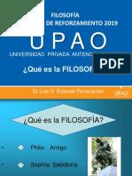 Qué es la FILOSOFÌA 07-01-2020.ppt