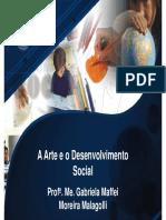 A Arte e o Desenvolvimento Social