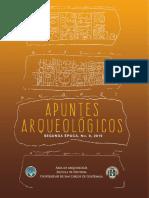 Apuntes Arqueologicos No. 8, 2019