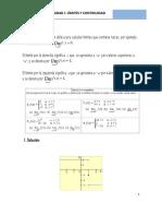 Unidad I Limites Laterales, Infinitos y Continuidad de una Función.docx