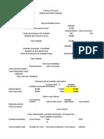Plantilla de costos por procesos ejercico 7-2