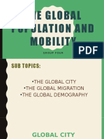 The global population and mobility PPT.pptx