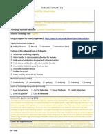 3300 itec instructional software