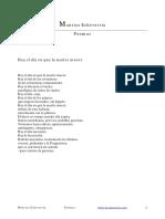 Antología de Maurice Echeverria