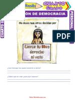 Definición-de-Democracia-para-Cuarto-Grado-de-Primaria