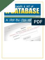 How to Create & Setup a Database
