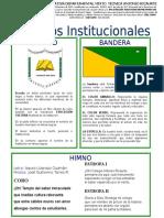 SÍMBOLOS ANTONIO RICAURTE 2020