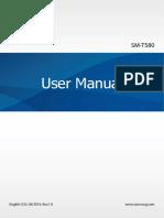 Samsung Tab a SM-T580 User Guide