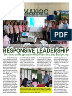 Seminar on Responsive GAD Planning and Budgetting