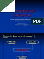 001_the Nature of Language