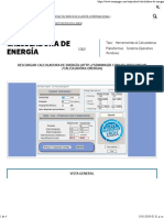 Calculadora de Energía - Senninger Irrigation