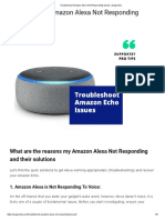 Troubleshoot Amazon Alexa Not Responding Issues _ Supportey