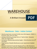 Lucrative Investment Opportunity - Warehouse Project.pptx