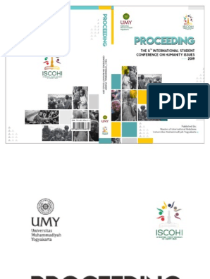 Proceeeding The 5th International Student Conference On Humanity Issues Iscohi 2019 Framing Social Sciences Violence