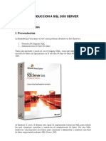 Introduccion a SQL 2005 Server