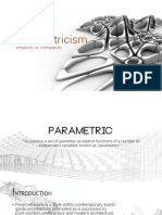 Parametricism PPT
