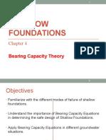 GE4.2 Bearing Capacity Equations