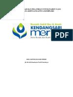 Materi edukasi dan pelatihan untuk pasien