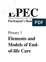 element and model end of life