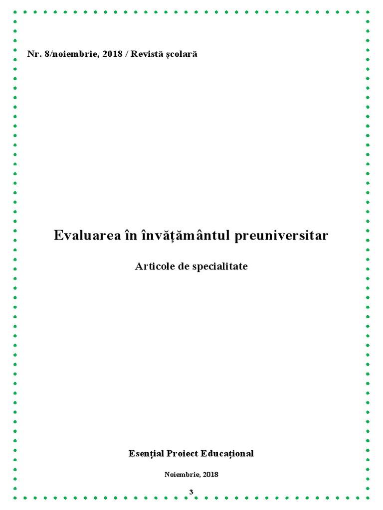 evaluarea remedierii comune)