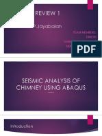 Seismic analysis of RCC Chimney