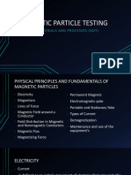 PART 1 MIDTERM. MAGNETIC PARTICLE TESTING