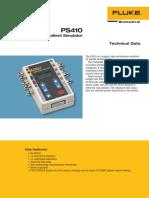 fluke-biomedical-ps410-datasheet