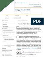 Komatsu PC200-7 Error Code on the Monitor,CMP Technology Co., Limited.pdf