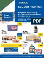 Tesco Szupermarket Akcios Ujsag 20200206 0212