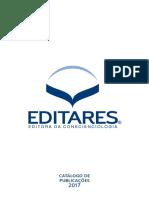 Catalogo Editora Editares