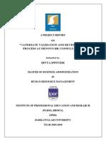 DENOVO project Report