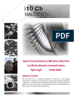 AK steel_410SS Testing Data