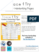 Try-and-Trace-Number-Handwriting-Pages