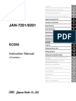 190-ECDIS JRC JAN-7201-9201 Instruct Manual Function 1-4-2019