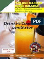 CHEFE DOS DRINKS_DRINKS E COQUETEIS LENDARIOS