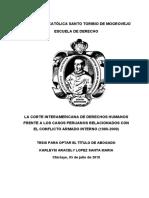TESIS CORTE INTERAMERICANA DE DERECHOS HUMANOS